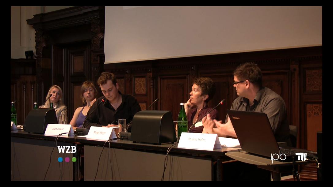 Video von der Auftaktkonferenz