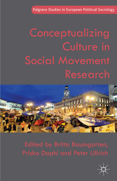 "Neuerscheinung ""Conceptualizing Culture in Social Movement Research"""
