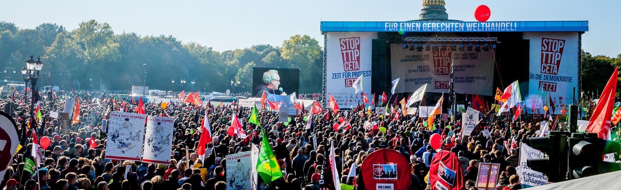 Erste Ergebnisse der Stop TTIP-Befragung